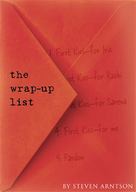 The Wrapups Begin by The Wrap Up List By Steven Arntson