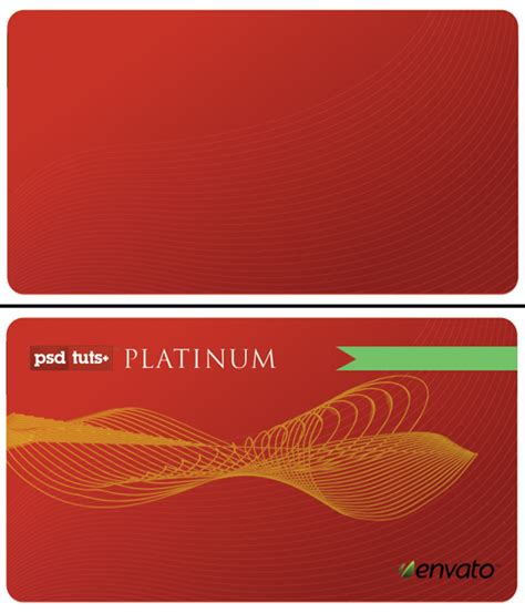 Credit Card Template Illustrator Tip Create A Realistic Credit Card In Photoshop