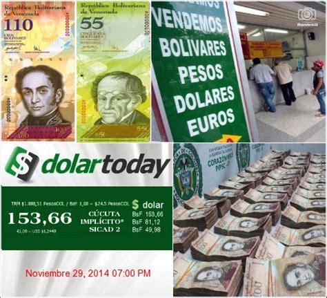 cotizacion del peso colombiano frente al bolivar venezolano c 218 cuta el bol 237 var en ca 237 da libre pierde m 225 s valor