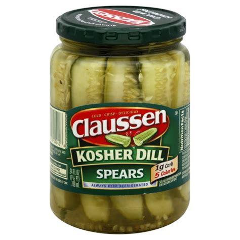 claussen pickles kosher dill refrigerated - Kosher Pickles