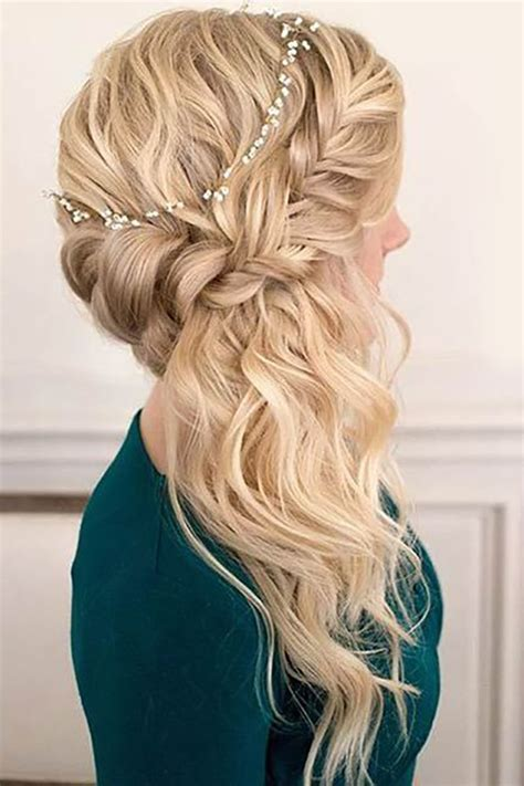 Wedding Hairstyles Up Side by 17 Best Ideas About Braided Wedding Hairstyles On