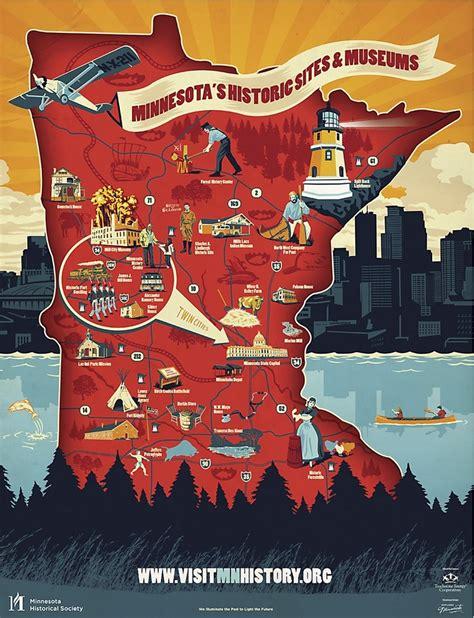 Mn Historical Society Records Minnesota History Map Minnesota