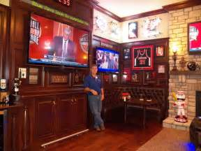 room sports bar stunning sports bar in great room traditional home