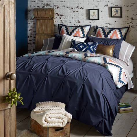Navy Bed by Navy Blue By Blissliving Home Bedding