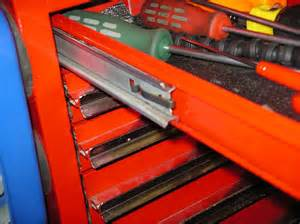 removing drawers on mac snap on tool boxes
