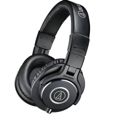 New Arrival Audio Technica Ath M40x Headphone Black Color Sse181 audio technica ath m40x headphones headphone holder