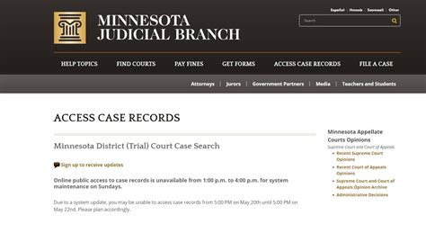 Minnesota Court System Search Records To Access In Minnesota Kare11