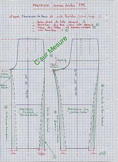 the pattern en francais sch 233 mas pantalon de base quot 224 vos mesures quot 224 remplir