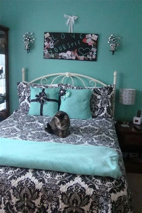 blue and black bedroom ideas tiffany blue teen girls bedrooms design dazzle