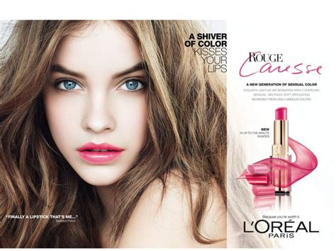 Loreal Hair Commercial Is It A Kardashian | barbara palvin for l oreal paris rouge caresse rouge