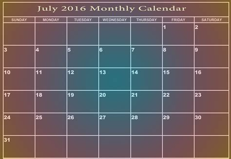 2018 calendar printable editable digital monthly pages