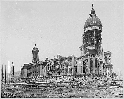 City Of San Francisco Records The Origins Of Our Disaster Relief The San Francisco Earthquake Of 1906 Kilmer House
