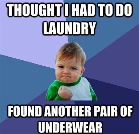 Laundry Meme - the last pair