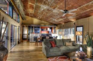 ceiling and floor rustic interior design for your house