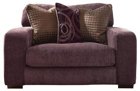 serena oversized chair  plum chenille  jackson