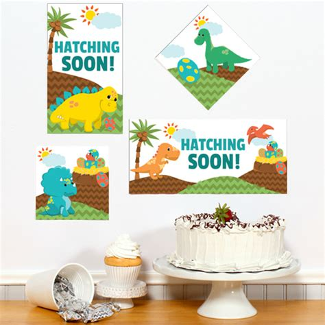 Dinosaur Baby Shower Decorations by Dinosaur Baby Shower Diy Sign Cutouts