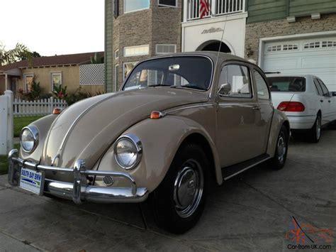 1967 volkswagen bug 1967 vw bug volkswagen beetle beige classic