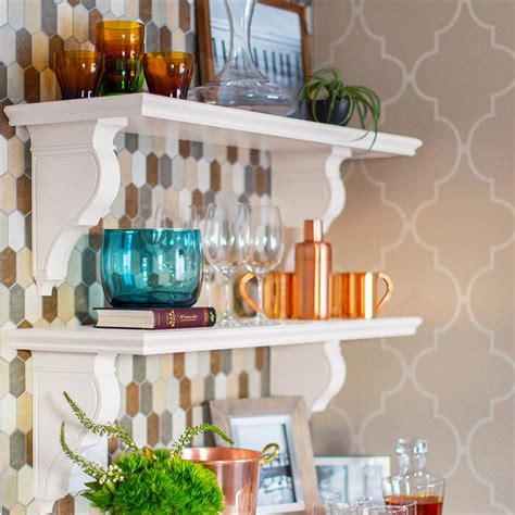 Decorating Ideas For Shelves In Kitchen Kitchen Wall Shelves Ideas Best Decor Things