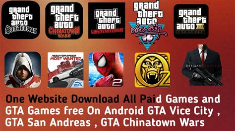 gta vice city free for android one website all paid and gta free for android gta vice city gta san
