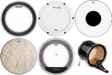 best drum 5 best bass drum heads with great sound quality 2018