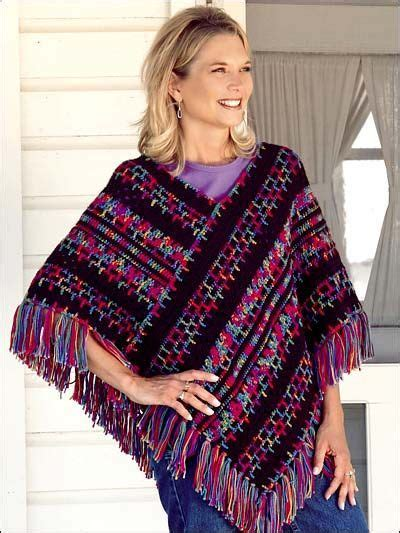 crochet poncho pattern free pinterest 22 best images about ladies ponchos on pinterest free