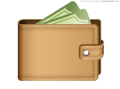 new year money wallets money in wallet icon psd psd file free