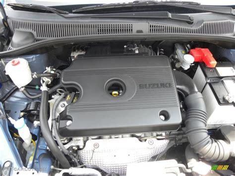 Suzuki Sx4 Motor 2007 Suzuki Sx4 Convenience Awd 2 0 Liter Dohc 16 Valve 4