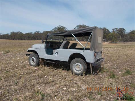 Jeep Cj6 Jeep Cj6 1960 4x4 Australian Build In Avoca Vic