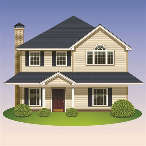 pics of houses creative of houses design elements vector 05 vector