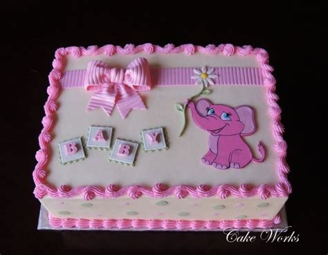 pink elephant baby shower cake images tagged quot quot cake works