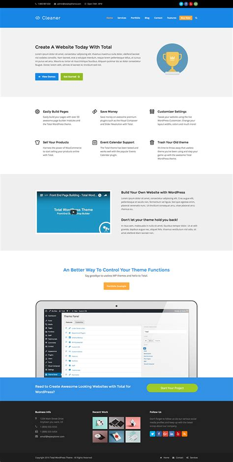 wordpress layout framework total drag drop wordpress theme framework wpexplorer