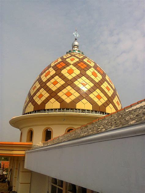contoh gambar gambar kubah masjid modern