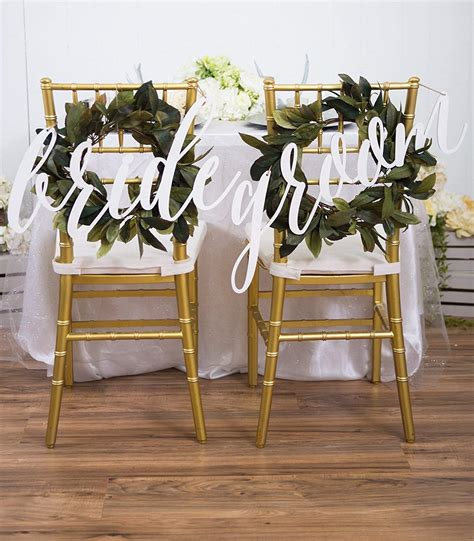 And Groom Chair by Top 10 Best Groom Wedding Chair Signs Heavy