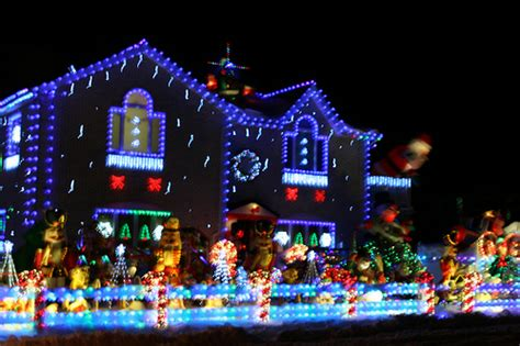 decorated houses best christmas decorated house in queens this is just my