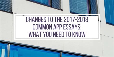 College Application Essay Questions 2017 by Common App Essay Questions 2017 College Admission