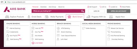 axis bank net banking login page axis bank banking ekikrat in