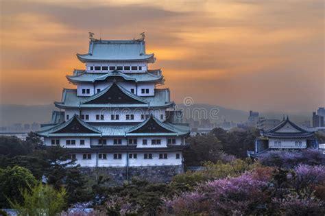 imagenes de nagoya japon castillo de nagoya en nagoya jap 243 n foto de archivo