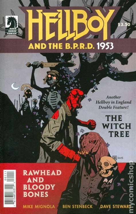 hellboy and the b p r d b01hbqbhm0 hellboy and the b p r d 1953 the witch tree and rawhead bloody bones 2015 dark horse comic books