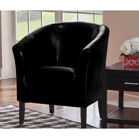 home decorators collection simon black club arm chair