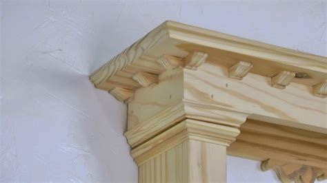 Classic Woodworking Project Classic Style Wall