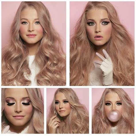 rose gold blonde hair color rose gold hair the hottest trend in hairstyling the