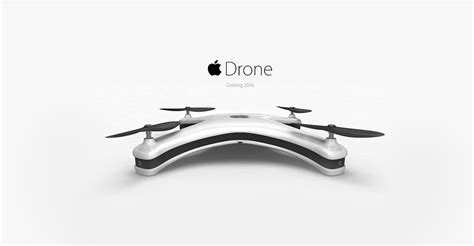 Drone Apple apple idrone concept met isight technologie