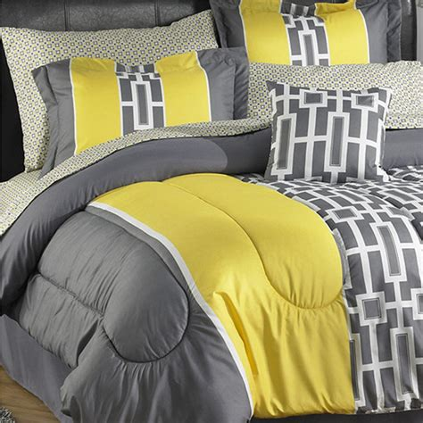 Grey And Yellow Bed Sets Reader Question Gray Yellow Bedding Cohesive Randomness