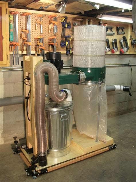 harbor freight dust collector conversion  kdc