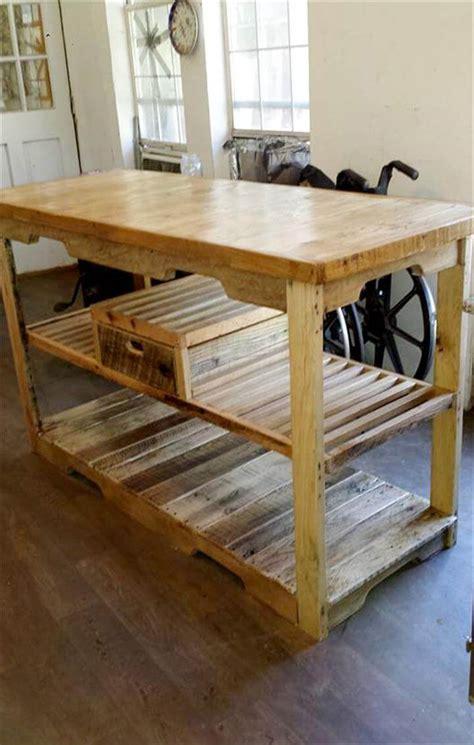 Pallet Console Table Multipurpose Wooden Pallet Console Table