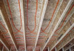 installing radiant heat in crawl space