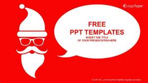 merry powerpoint template merry with santa powerpoint templates