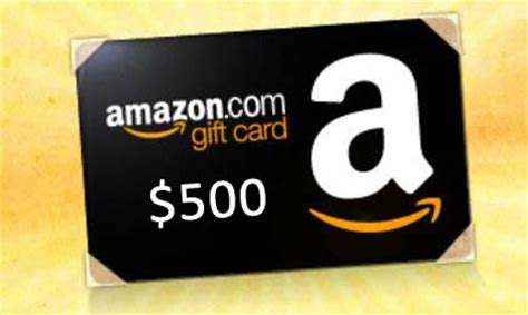 Win A 500 Amazon Gift Card - enter to win a 500 amazon gift card