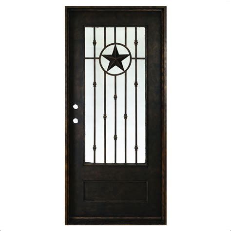 Favorite Glass Entry Door With Texas Star With 16 Pictures Home Depot Front Doors With Glass