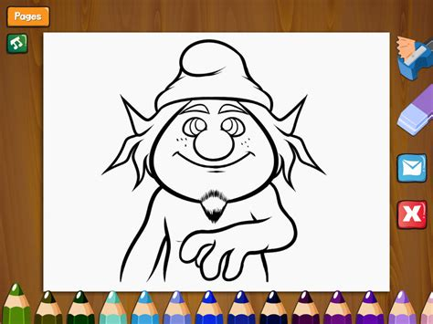 coloring book app color book for smurfs ios store store top apps app